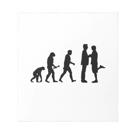 Gay Marriage Evolution Notepads