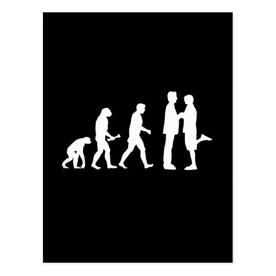 Gay Marriage Evolution - Postcard