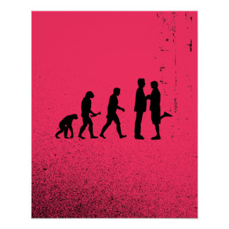 Gay Marriage Evolution Poster