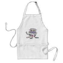 Gay Marriage Groom Just Married Adult Apron