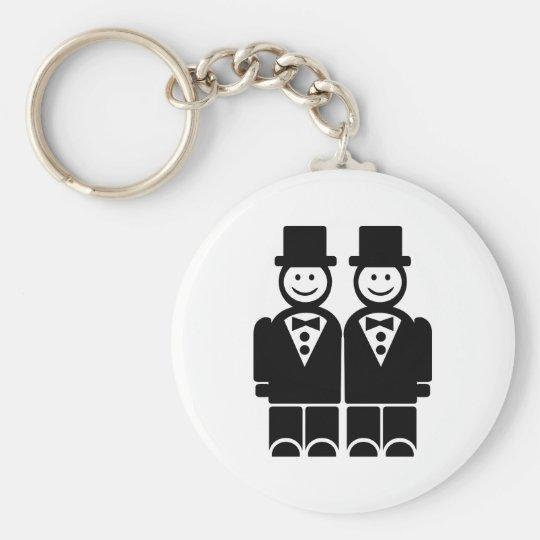 Gay Marriage Keychain