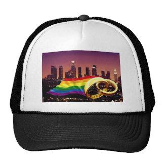 Gay Marriage Los Angeles Trucker Hat