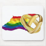 Gay Marriage Mouse Pad