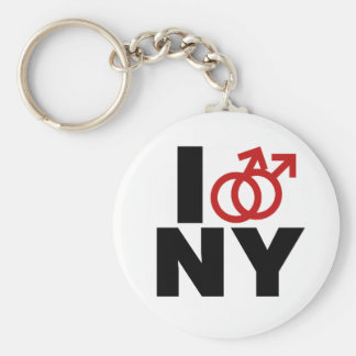 Gay Marriage New York Key Chains