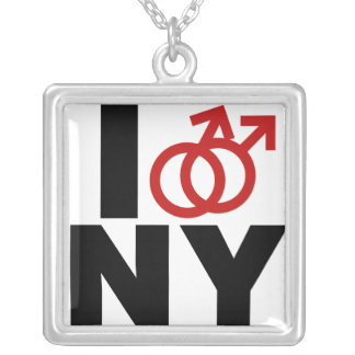 Gay Marriage New York Necklace