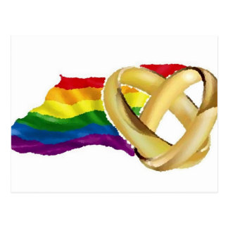 Gay Marriage Postcard