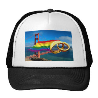 Gay Marriage San Francisco Trucker Hat