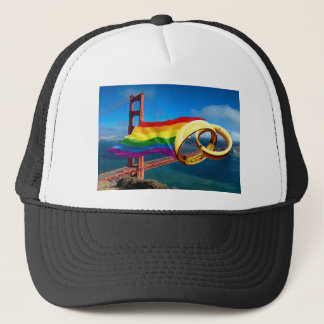 Gay Marriage San Francisco Trucker Hat