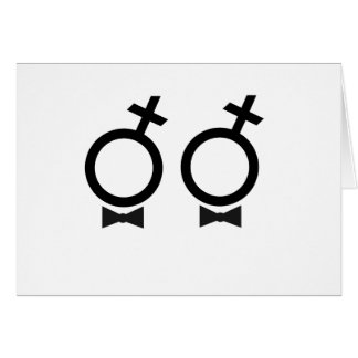 Gay Marriage T-shirt Card