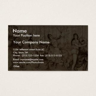 Gay Masqueraders Business Card