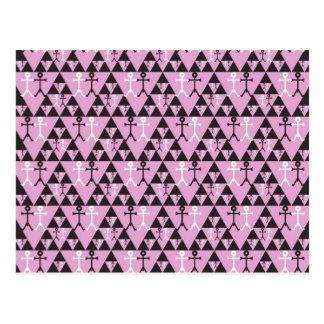 Gay Men Icon pattern Post Card