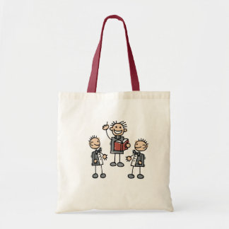 Gay Men with Preacher Budget Tote Bag