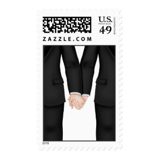 Gay Men's Wedding Postage