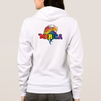 Gay Merica Pride on the 4th of july Hoodie