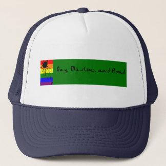 Gay, Muslim and Proud Trucker Hat