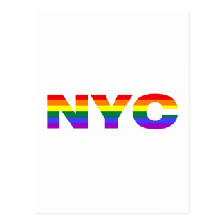 Gay NYC postcard
