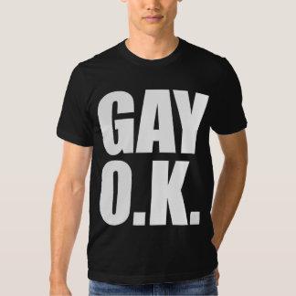GAY O.K. SHIRT