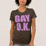 GAY O.K. T SHIRTS