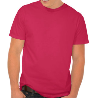 GAY OK Big Bold Letters LGBT Supporter White & Red T Shirts