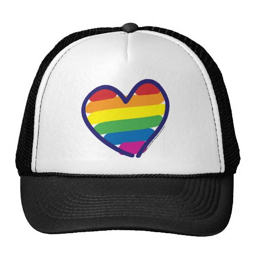 Gay-ORGULLO-CORAZÓn-En-catneato Gorra