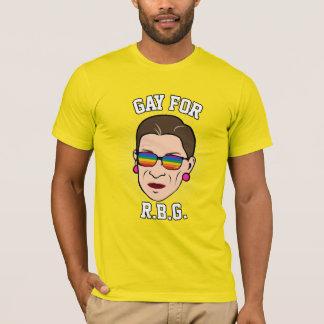 Gay para RBG - orgullo 2016 de Ruth Bader Ginsburg Playera