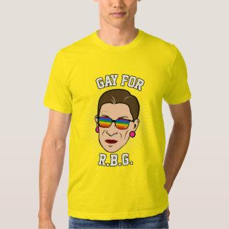Gay para RBG - orgullo 2016 de Ruth Bader Ginsburg Polera