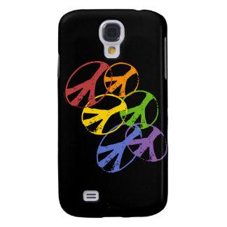 Gay Peace Symbol HTC Vivid Galaxy S4 Case