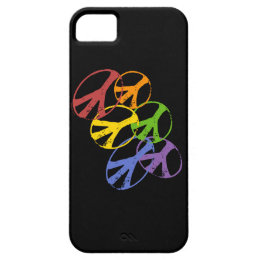 Gay Peace Symbol iphone 5 iPhone SE/5/5s Case