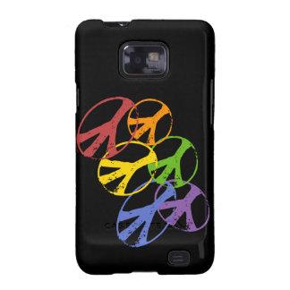 Gay Peace Symbol Samsung Galaxy SII Samsung Galaxy SII Cover