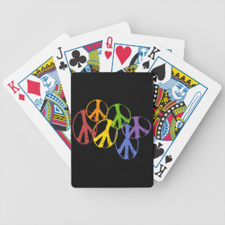 Gay Peace Symbols Cards