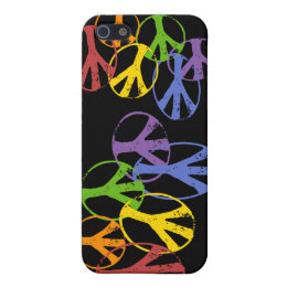Gay Peace Symbols s Cover For iPhone SE/5/5s