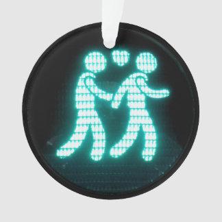 Gay Pedestrian Signal Ornament