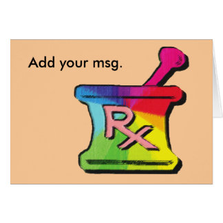 Gay Pharmacist T-shirts & Gifts Card