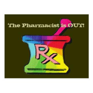 Gay Pharmacist T-shirts & Gifts Postcard