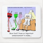 Gay Plug Funny Gifts Tees Mugs Cards Etc Mouse Pad