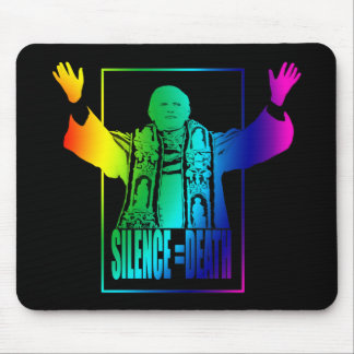 Gay Pope Mouse Pad