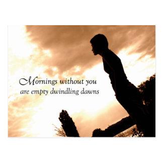GAY Postcards - Dwindling Dawn