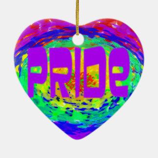 Gay Pride 2016 Heart ornament