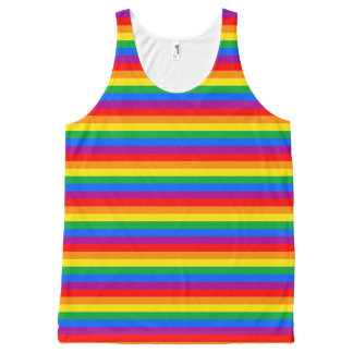 Gay Pride All-Over-Print Tank Top