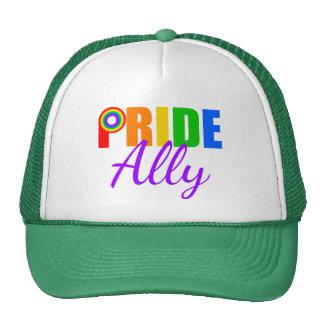 Gay Pride Ally Rainbow Trucker Hat