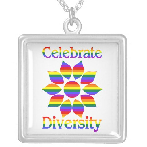 Gay Pride and Rainbow Themed Necklaces