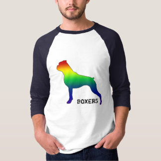 Gay Pride Boxer 2 Tee Shirt