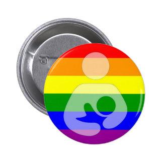 Gay Pride Breastfeeding / Nursing Buttons