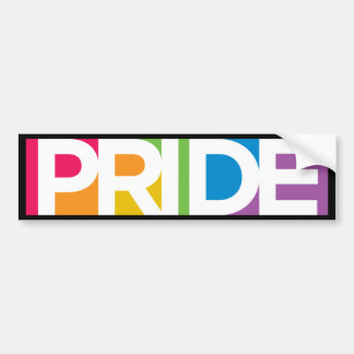 Gay Pride Bumper Sticker