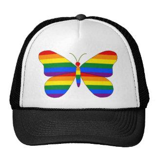 Gay Pride Butterfly Trucker Hat
