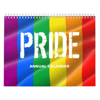 GAY PRIDE CALENDAR / PRIDE FLAGS