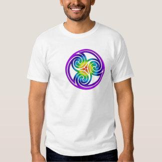 Gay Pride Celtic circle T Shirt
