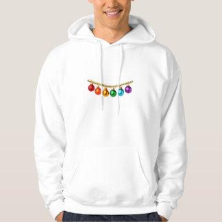 Gay pride Christmas Hoodie