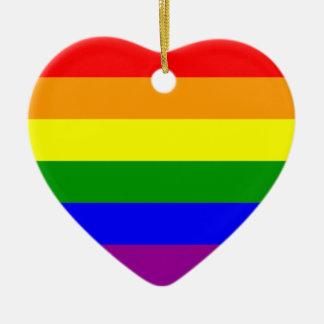 Gay Pride* Christmas Ornament