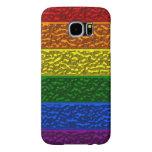 Gay Pride Chrome Flag Samsung S6 Case Samsung Galaxy S6 Cases